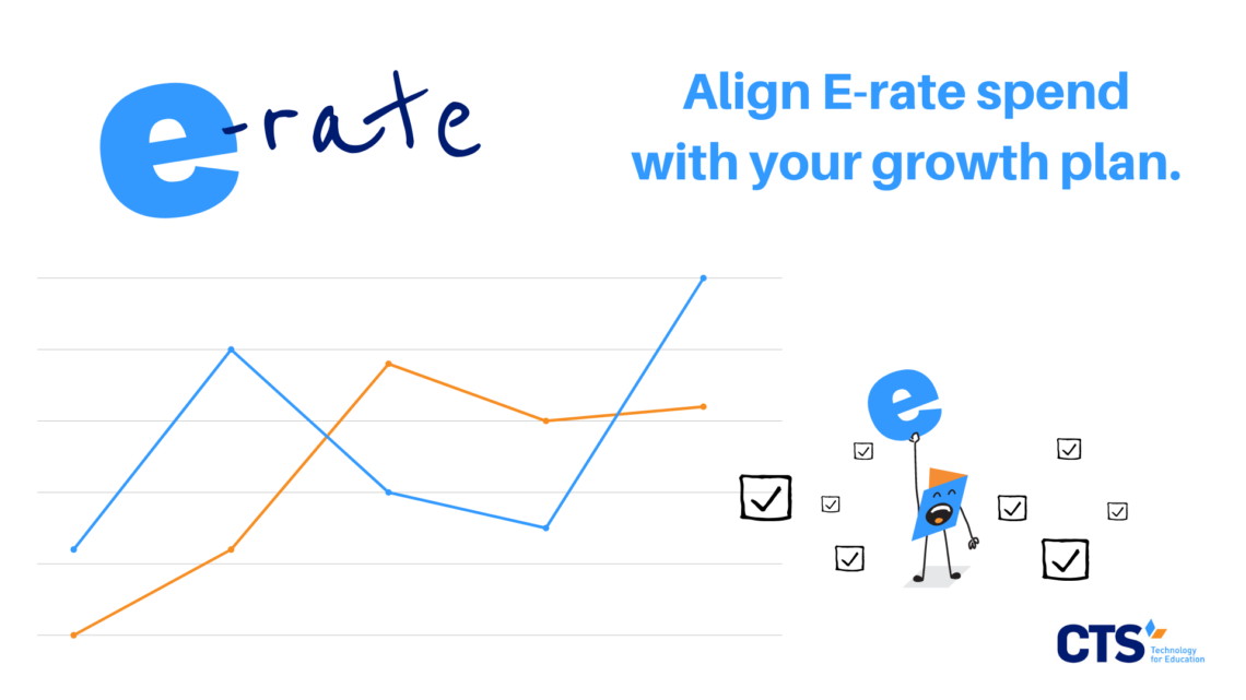 Align your use of erate funds with your school growth plan.