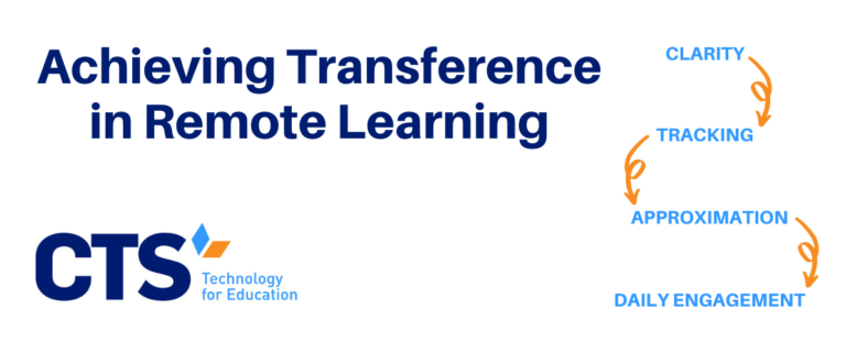 How To Ensure Learning Transference in Remote Learning