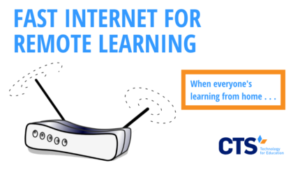 Families can take a number of steps to optimize their internet speed for remote learning.