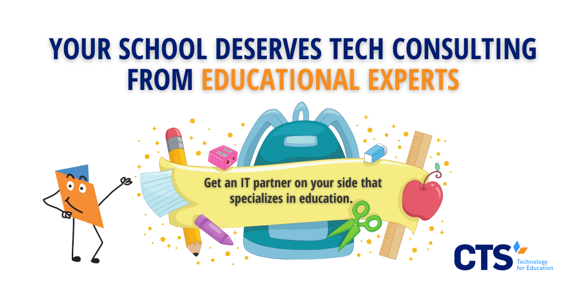 Why a Consultative Approach to Technology Makes Sense for Schools
