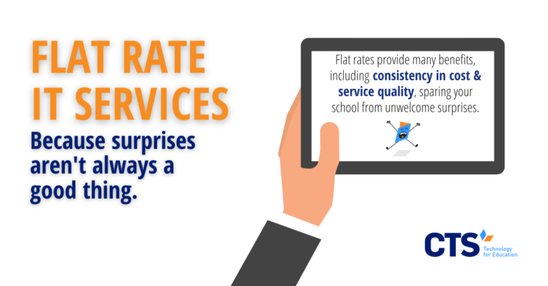 Why Flat Rate IT Services Make Sense for Schools