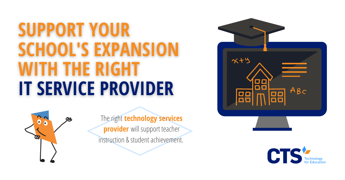 How IT Service Providers Support a Successful School Expansion