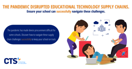 The pandemic has disrupted educational technology supply chains across the globe.