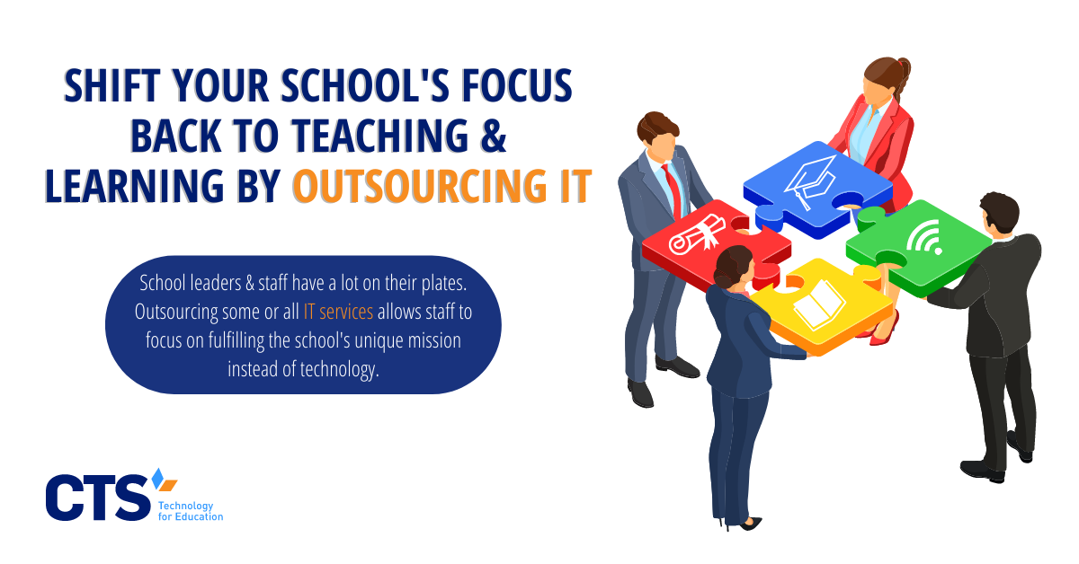 How Outsourcing IT Keeps Schools Focused on Their Unique Missions