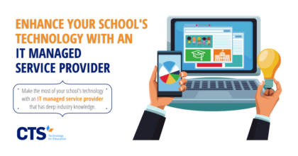 An IT managed service provider can yield tremendous benefits for a school.
