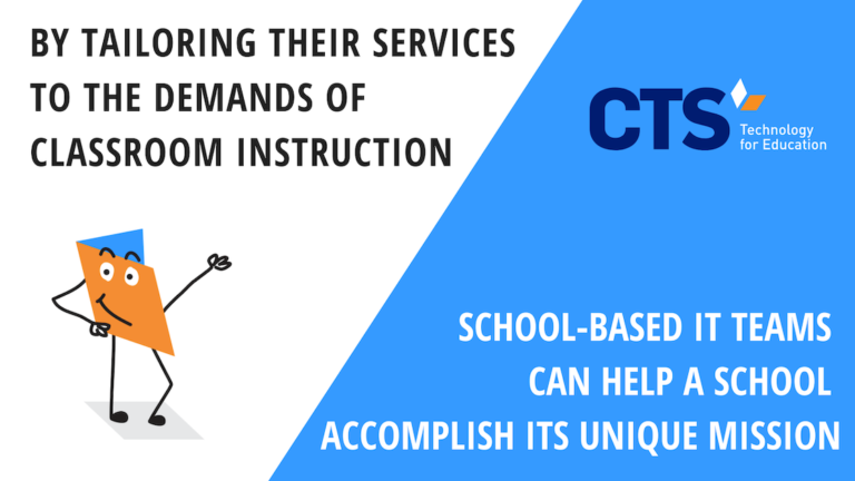 3 Tips for Successful School-Based IT Teams