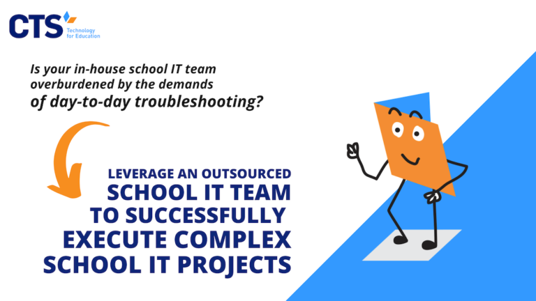 How Outsourced IT Teams Support School IT Projects