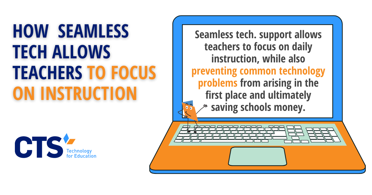 How Seamless Tech. Support Allows Teachers to Focus on Instruction