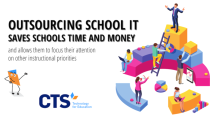 Outsourcing school IT can save schools time and resources.