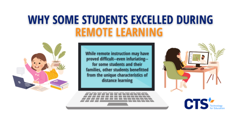 Why Some Students Excelled During Remote Learning