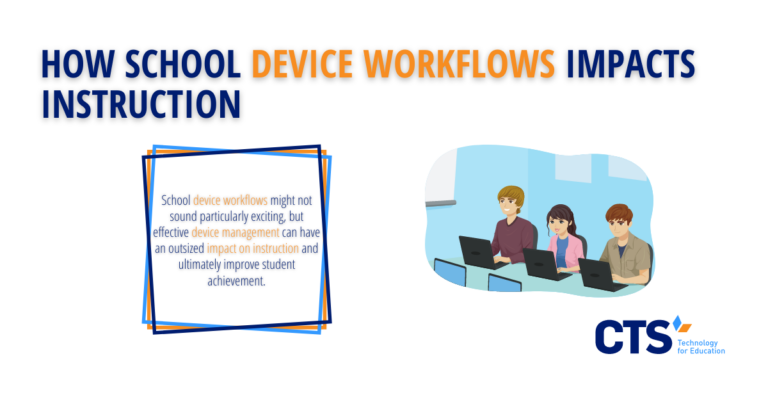 How School Device Workflows Impacts Instruction