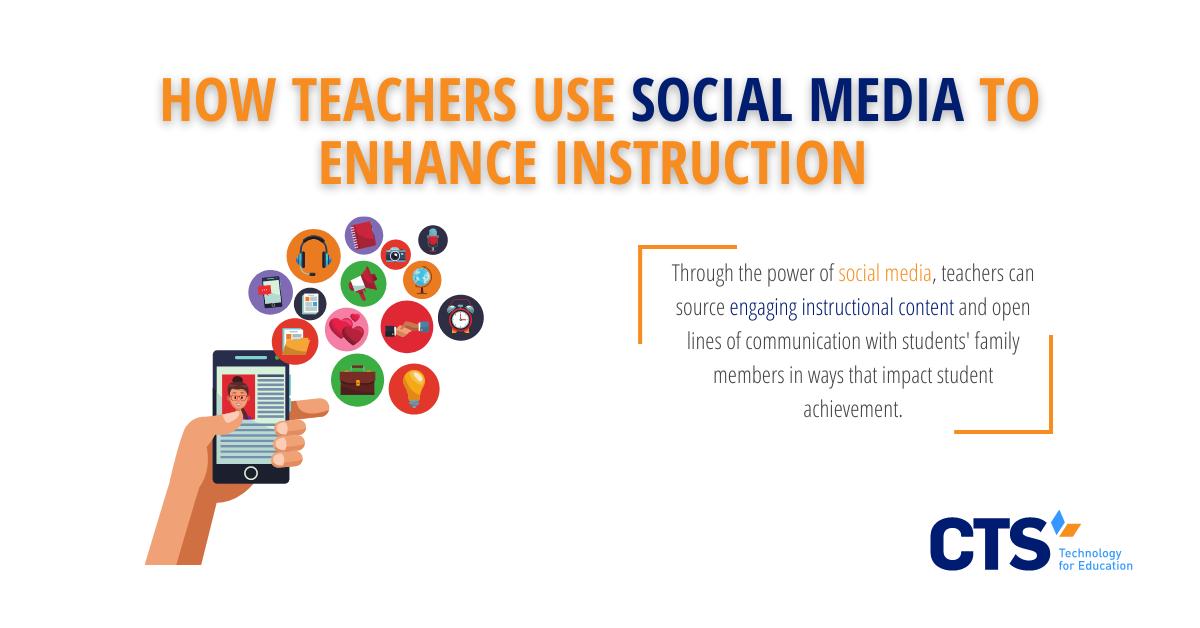 How Teachers Use Social Media to Enhance Instruction
